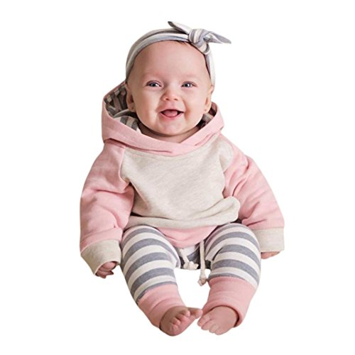 ViWorld Baby Boys Girls Clothes Long Sleeve Hoodie Tops Sweatsuit