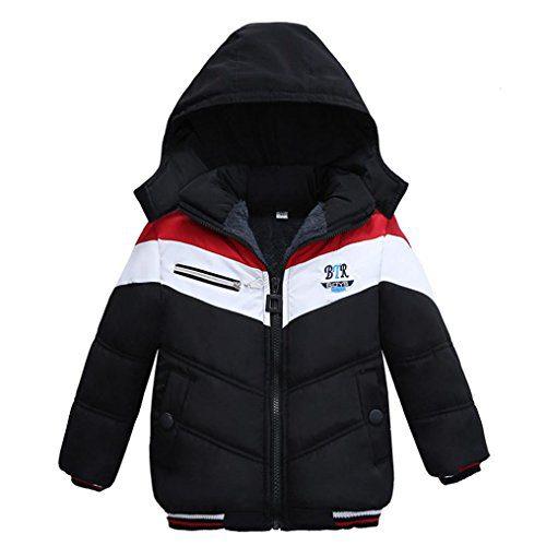 Gotd Toddler Baby Girls Boys Coat Kids Winter Thick Padded Warm Jacket