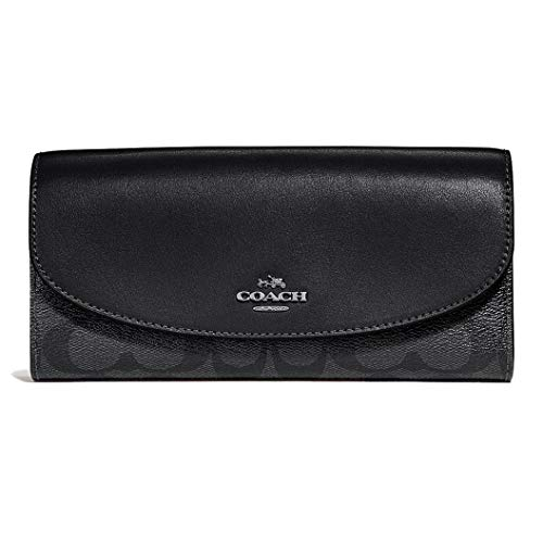 Coach Women's Boxed Slim Envelope Wallet in Signature Canvas
