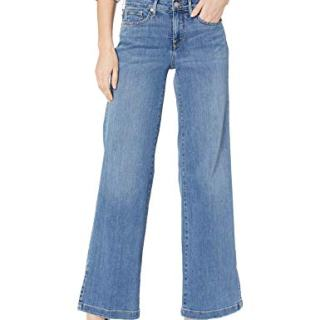 NYDJ Women's Wide Leg Trouser Jean with Side Slits
