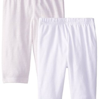 Gerber Unisex-Baby Newborn 2 Pack Pants Stripes