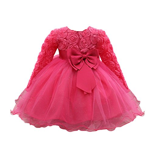 Memela Baby Girls Princess Bridesmaid Pageant Gown Birthday Party