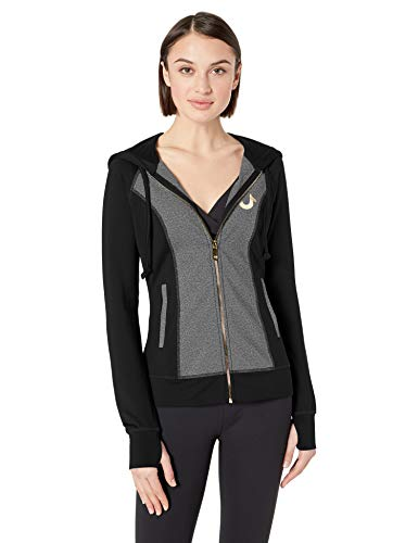 True Religion Women's Performance Zip UP Hoodie