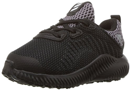 adidas Kids' Alphabounce Running Shoe, Black/White/Utility Black