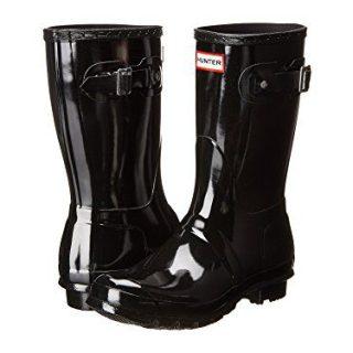 Women's Hunter Boots Original Short Gloss Snow Rain Boots