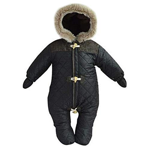 New Unisex Baby Snowsuit Down Coat Romper Newborn Snowsuit