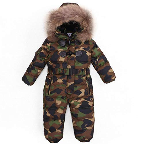Children Winter -30 Degree Thicken Rompers Baby Boys