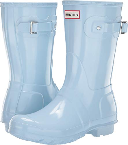 Hunter Women's Original Short Gloss Rain Boots Boat Blue