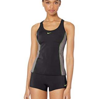 Nike Swim Women's Color Surge Powerback Tankini Swimsuit Set