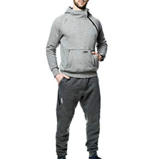 Tuxy The World's Best Onesie (Large, Two Tone Grey)
