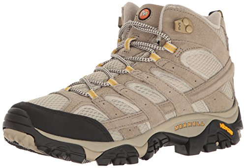 Merrell Women's Moab 2 Vent Mid Hiking Boot, Taupe