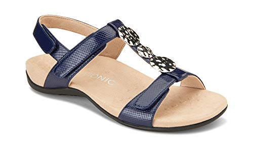 Vionic Women's Rest Farra Backstrap Sandal - Ladies Adjustable Sandals