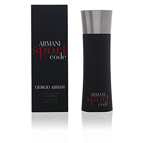 Giorgio Armani Code Sport for Men Eau De Toilette Spray