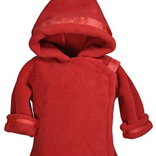 Widgeon Baby Boy's Warm Plus Fleece Jacket, Red