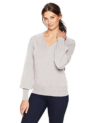 Lark & Ro Women's Sweaters V Neck Cashmere Sweater