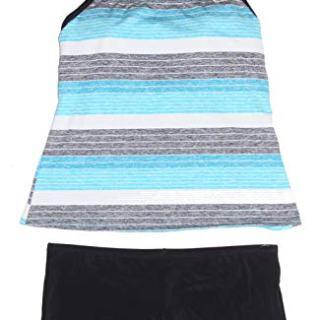 Nike Women's Tankini Athletic 2-Piece Swimsuit