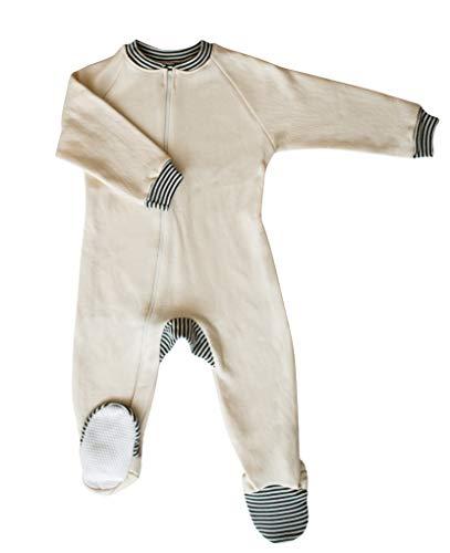 CastleWare Baby- Footie Pajama - Organic Cotton Fleece