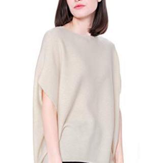Goyo Cashmere Women's 100% Pure Cashmere Boat Neck Sweater