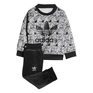 Adidas Kids(Infant) Originals Zebra Crew Set