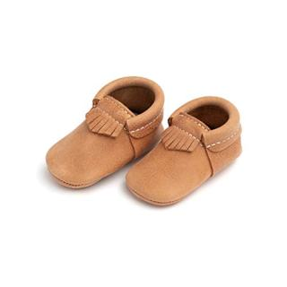 Freshly Picked - Soft Sole Leather City Moccasins - Baby Girl Boy Shoes