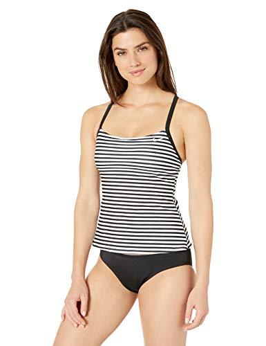 Nike Swim Women's Laser Stripe Racerback Tankini Swimsuit Set