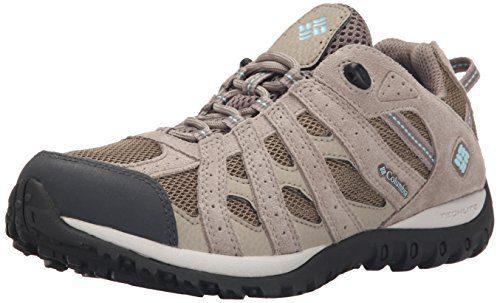 Columbia Women's Redmond Waterproof Hiking Boot, Pebble