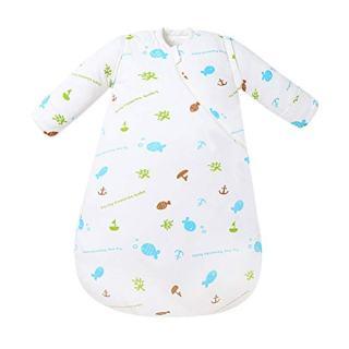 EsTong Baby Boys Girls Cotton Sleepsack Infants Kids Wearable Blanket