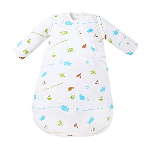 EsTong Baby Boys Girls Cotton Sleepsack Infants Kids Wearable Blanket