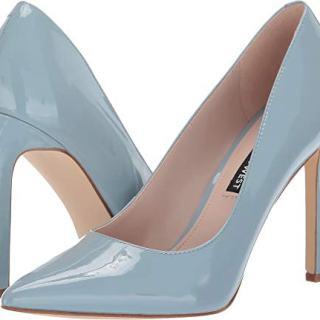 Nine West Women's Tatiana Pump Light Blue