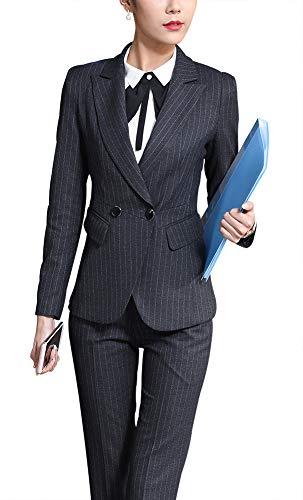 Women's Three Pieces Office Lady Blazer Business Suit Set