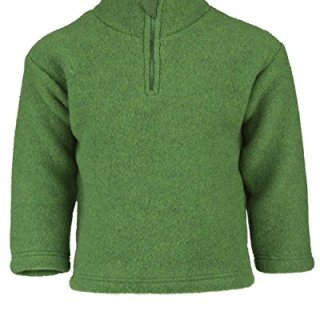 Engel Natur, Sweater with Zipper and Chin Guard