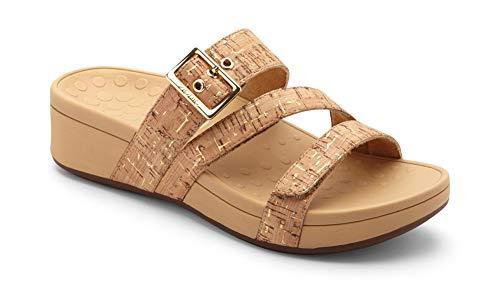 Vionic Women's Pacific Rio Platform Sandal - Ladies Adjustable