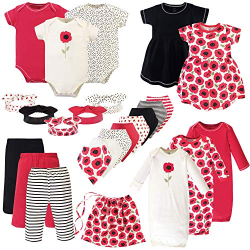Touched by Nature Unisex Baby Girls Layette Giftset Bundle