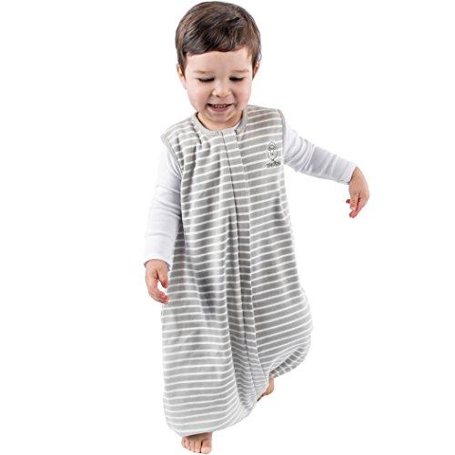 Woolino 4 Season Baby Sleep Bag with feet, Merino Wool Walker Sleep Bag