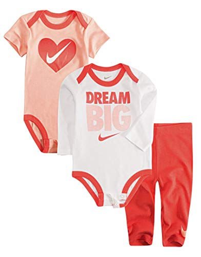 Nike Jordan Baby Boys' 3 Piece 2 Bodysuits and 1 Pants
