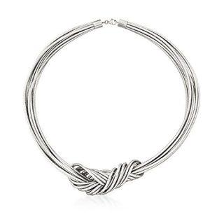Ross-Simons Italian Flex Knot Necklace