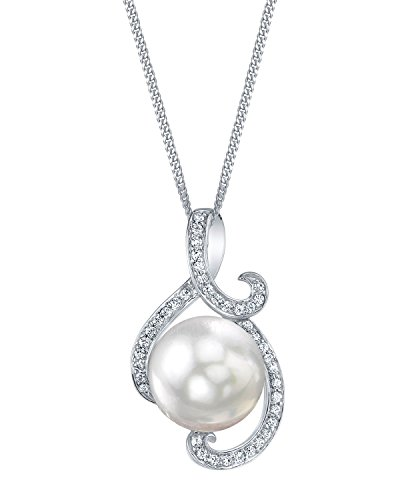THE PEARL SOURCE 10-11mm White Freshwater Cultured Pearl