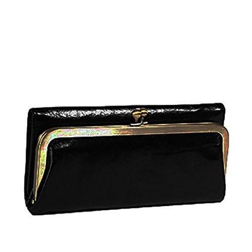 Hobo Womens Genuine Leather Vintage Rachel Clutch Wallet