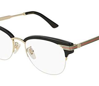 Gucci GG Black Plastic Eyeglasses 50mm