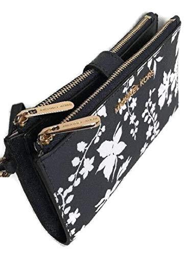 MICHAEL Michael Kors Jet Set Travel Wallet Double Zip Wristlet Phone Holder