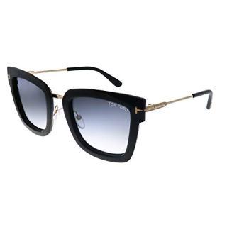 Sunglasses Tom Ford Lara- shiny black / gradient smoke