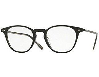 Oliver Peoples Hanks Black 48/20/145 Unisex Eyewear Frame