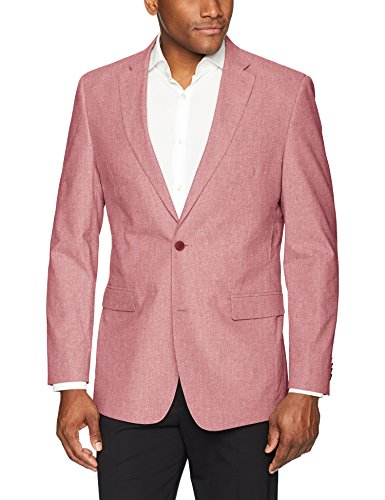 Tommy Hilfiger Men's Modern Fit Seersucker Suit Separates-Custom Jacket