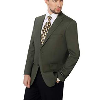 P&L Men's Premium Classic Fit Sport Coat Suit Jacket