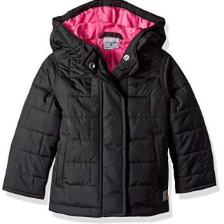 Carhartt Girls' Toddler Amoret Quilted Jacket