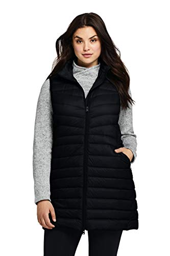 Lands' End Women's Plus Size Ultralight Packable Down Vest