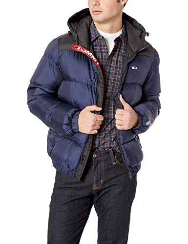 Tommy Jeans Men's Puffer Jacket with Down Fill Classics Collection