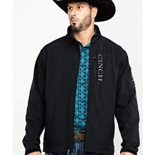 Cinch Men's Concealed Carry Bonded Jacket Black
