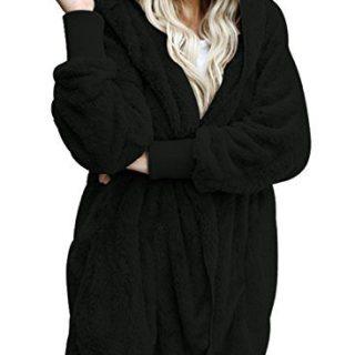 Dokotoo Womens Plus Size Fashion Ladies Fuzzy Winter Fall