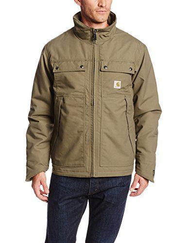 Carhartt Men's Quick Duck Jefferson Traditional Jacket